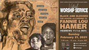 February 21, 2021, 11:00am | Maafa Worship Service | Rev. Dr. Otis Moss III