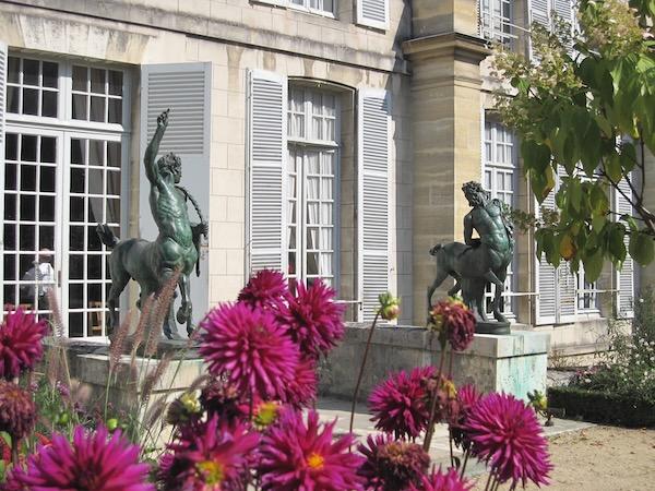 Garden Setting at Chateau De Malmaison