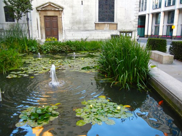 St Lawrence Jewry Garden