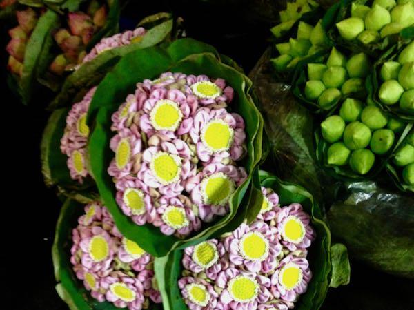 Bangkok Flower Market or Pak Khlong Talat