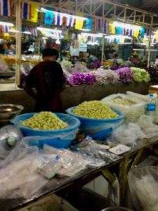 Bangkok Flower Market or Pak Khlong Talat