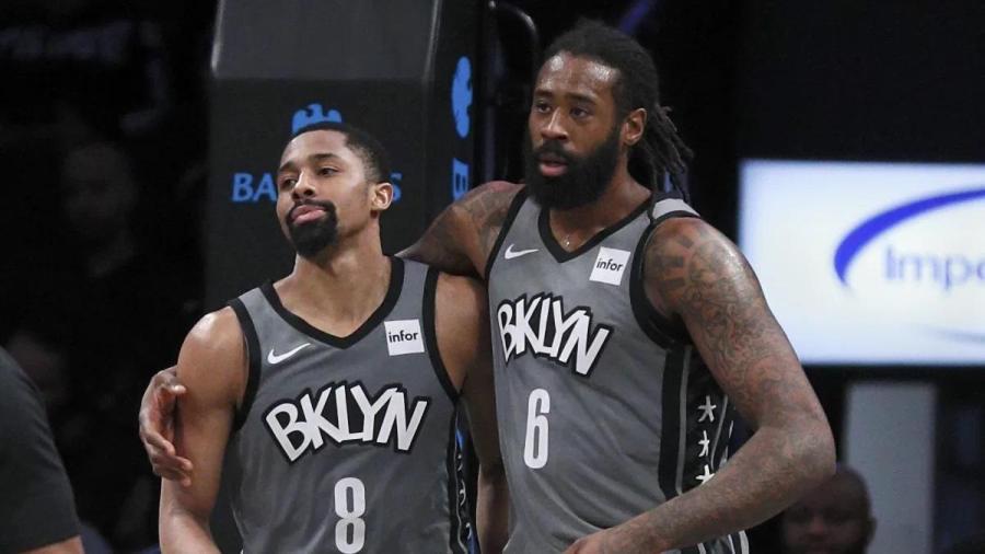Brooklyn Nets Spencer Dinwiddie, DeAndre Jordan Test Positive CV-19