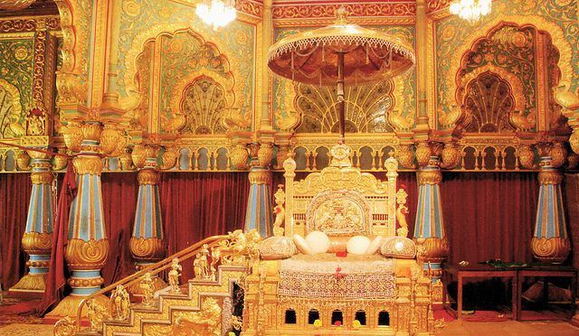 Golden Thrown Mysore Palace