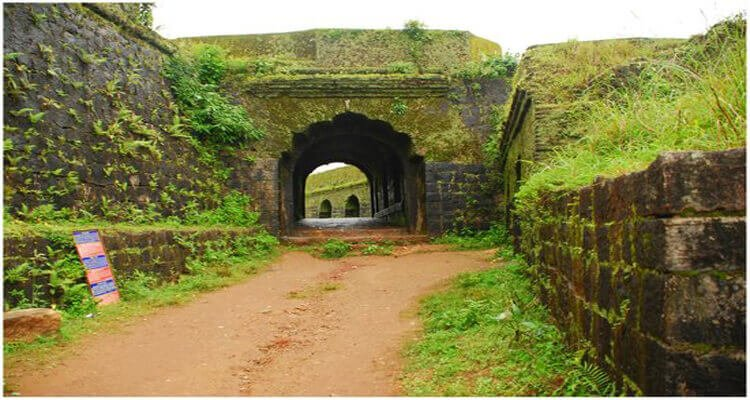 Manjarabad Fort Sakaleshpur History - Entrance view of Manjarabad fort