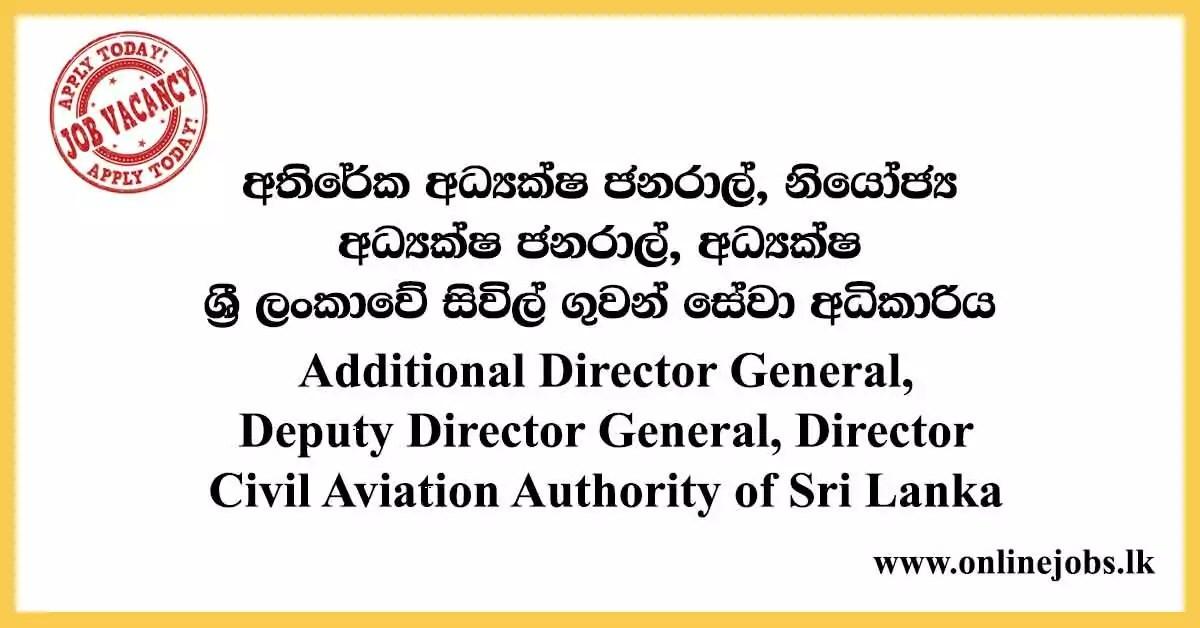 Civil Aviation Authority of Sri Lanka