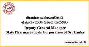 Deputy General Manager - State Pharmaceuticals Corporation of Sri Lanka
