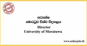 Director - University of Moratuwa Vacancies 2020