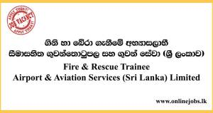 Fire & Rescue Trainee - Airport & Aviation Services (Sri Lanka) Limited