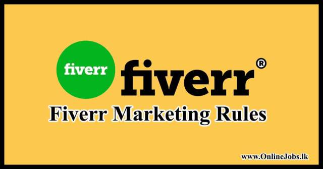 Fiverr Marketing Rules