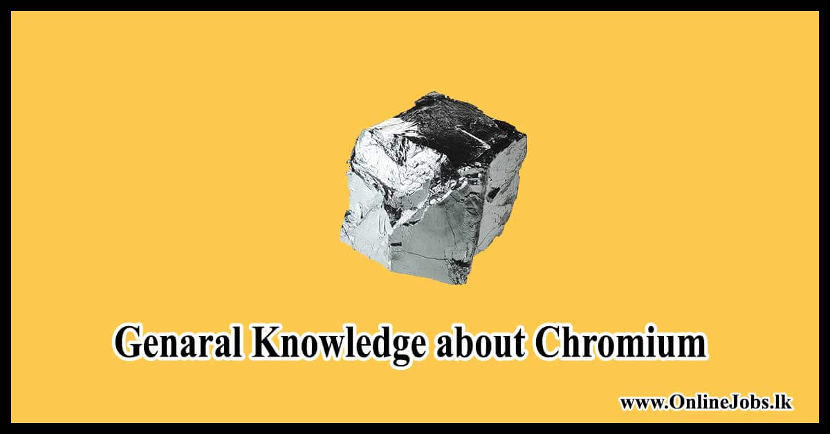 Genaral Knowledge about Chromium