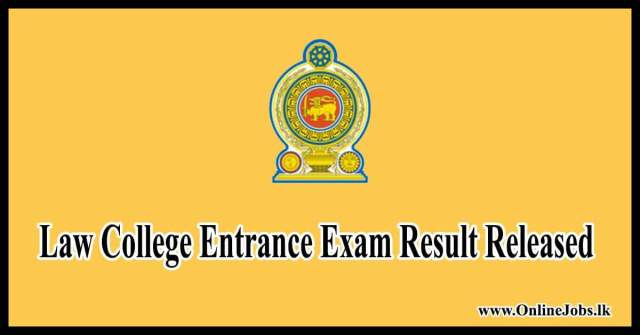 Law College Entrance Exam Result Released