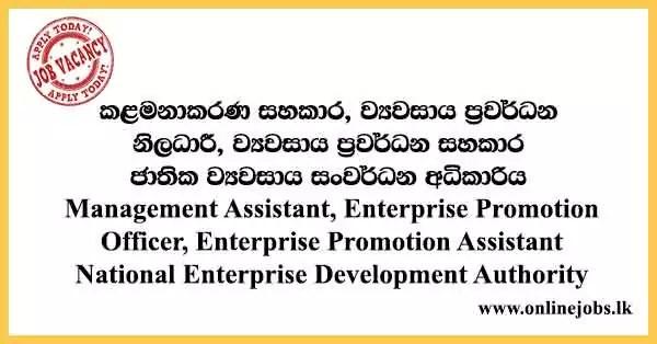 National Enterprise Development Authority Vacancies 2021