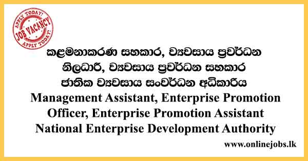 National Enterprise Development Authority Vacancies 2021
