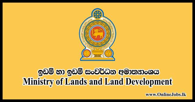 Ministry of Lands and Land Development