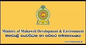 Ministry of Mahaweli Development & Environment