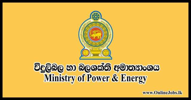 Ministry of Power & Energy