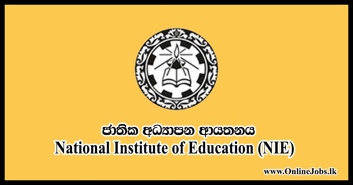 National Institute of Education (NIE)