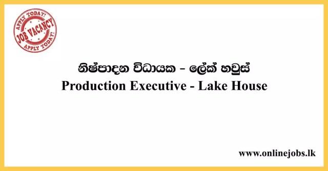Production Executive - Lake House