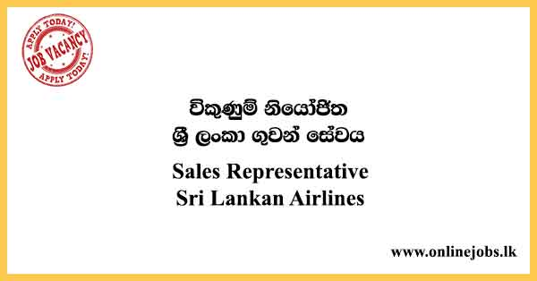 Sales Representative - Sri Lankan Airlines