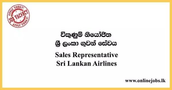 Sales Representative - Sri Lankan Airlines
