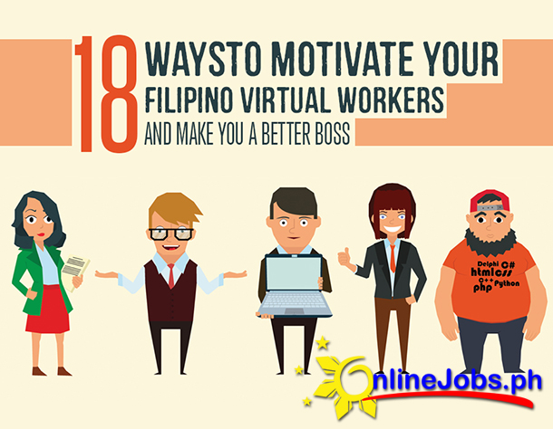 18 Ways to Motivate Your Filipino Virtual Workers