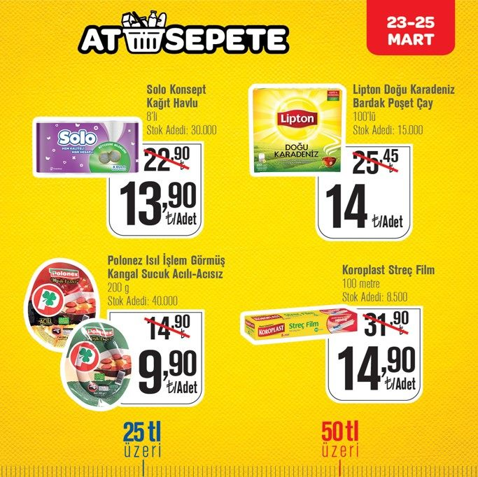 CarrefourSA At Sepete 23 - 25 Mart 2019