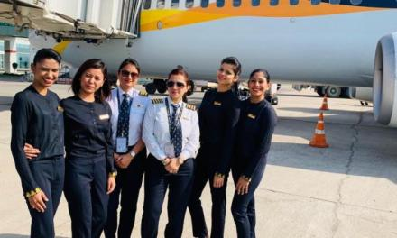 JET AIRWAYS OPERATES ALL-WOMEN CREW FLIGHTS ON THE OCCASION OF 'INTERNATIONAL WOMEN'S DAY'