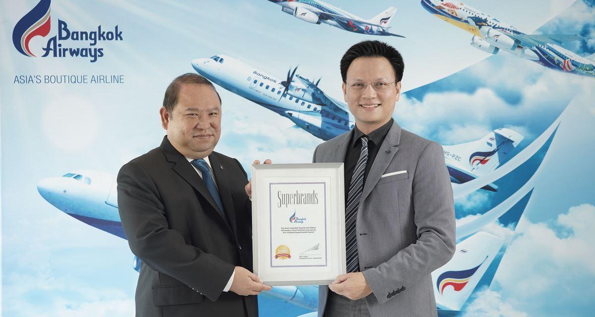 Bangkok Airways Awarded Superbrands Thailand 2018