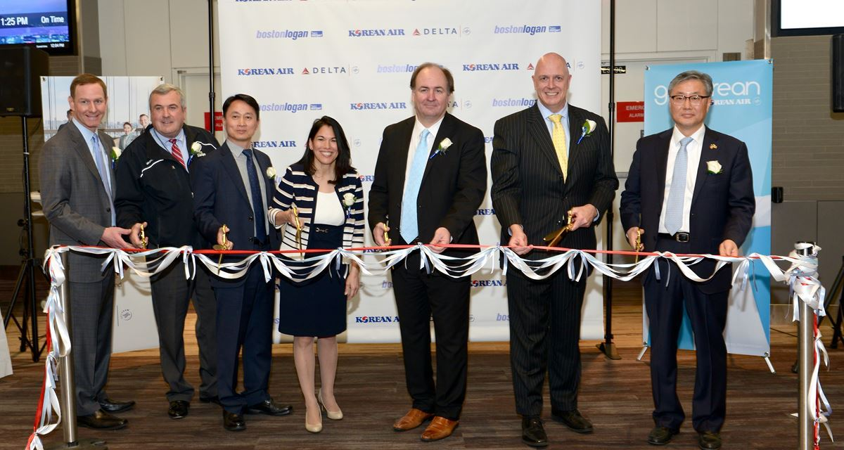 Korean Air Launches Boston Non-Stops to Asia
