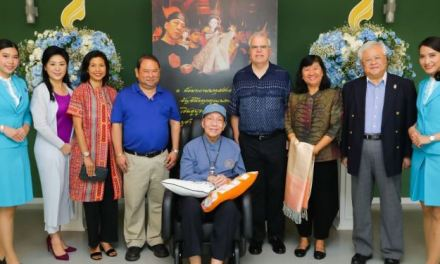 BANGKOK AIRWAYS SPONSORS PUPPET SHOW PRODUCTION OF 'TALENG PHAI'
