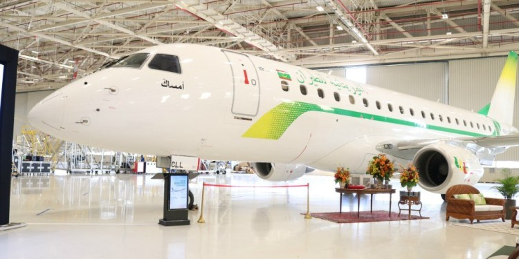 MAURITANIA AIRLINES RECEIVES FIRST E175
