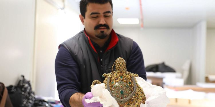 TURKISH CARGO SPONSORED THE CARRIAGE OF HISTORICAL ARTIFACTS :