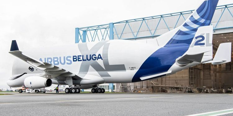 AIRBUS HAS SHOWN OFF THE SECOND HIGH-CAPACITY BELUGAXL