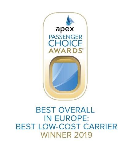 Norwegian Wins 'Best Low-Cost Carrier in Europe'