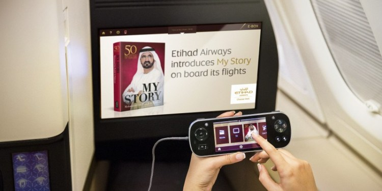 ETIHAD AIRWAYS PRESENTS 'MY STORY' E-BOOK ON BOARD