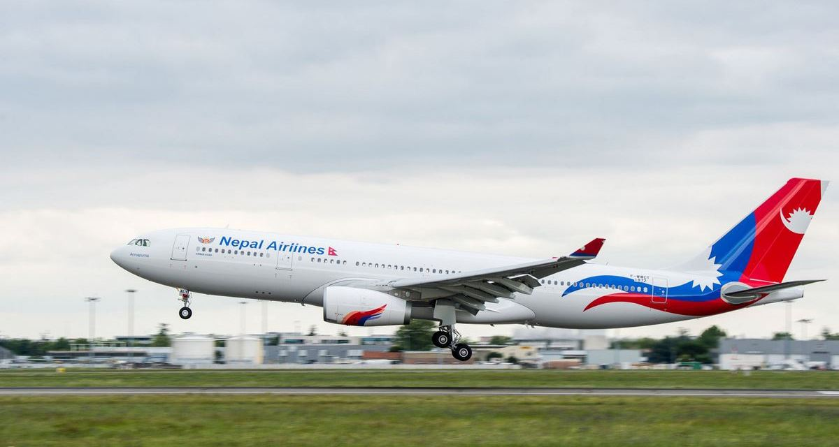Nepal Airlines receives fare clearance for Japan