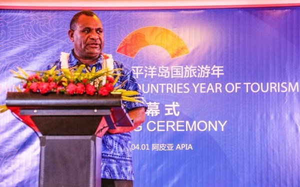 OFFICIAL LAUNCH OF THE 2019 YEAR OF TOURISM FOR CHINA AND PACIFIC ISLAND COUNTRIES.
