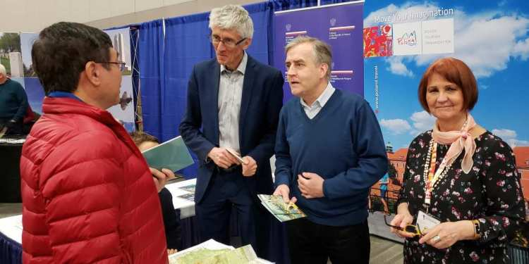 POT AT THE TRAVEL AND VACATION SHOW IN OTTAWA