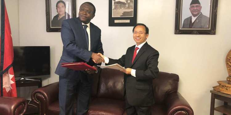DIPLOMATIC RELATIONS BETWEEN NEPAL AND TOGO