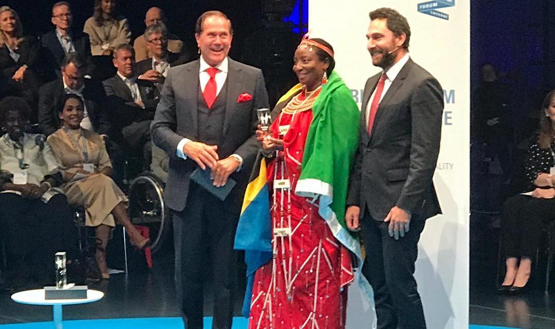 TANZANIAN WINS INTERNATIONAL TOURISM AWARD
