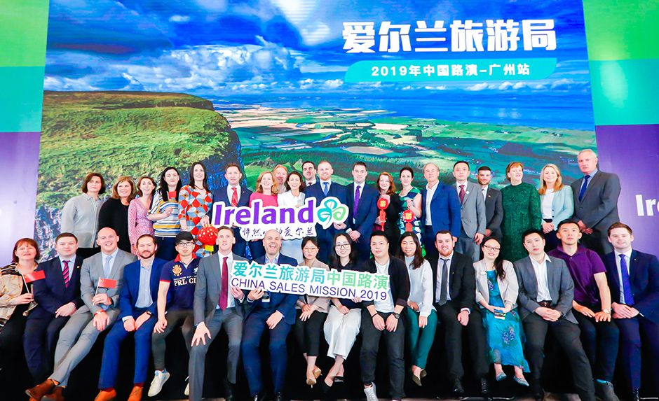 Tourism Ireland leads biggest ever sales mission to China