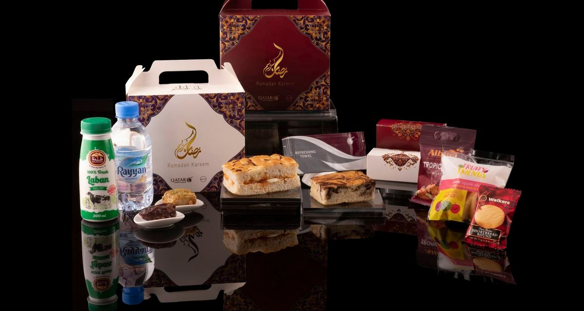 Qatar Airways Serves Iftar Meals Onboard During the Holy Month of Ramadan
