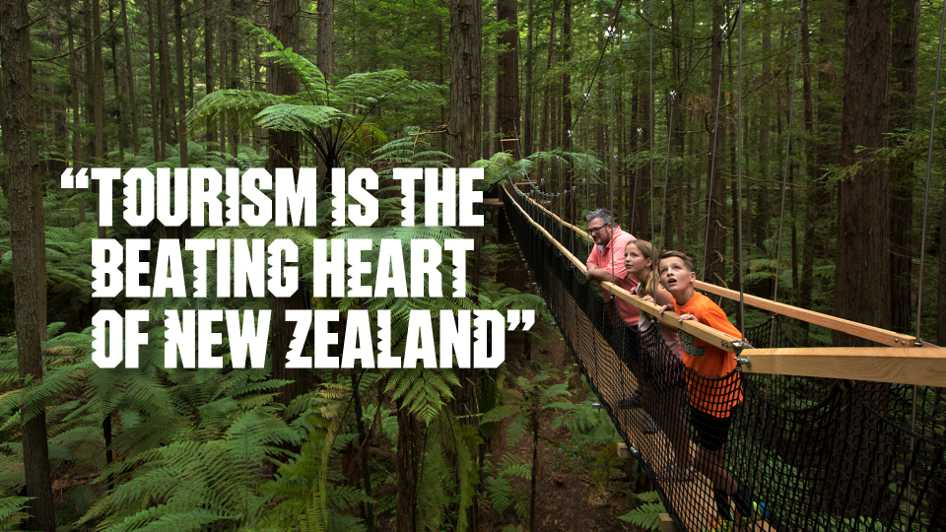 Tourism is the beating heart of New Zealand's economy