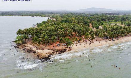 Nesat beach: A magnet drawing tourists
