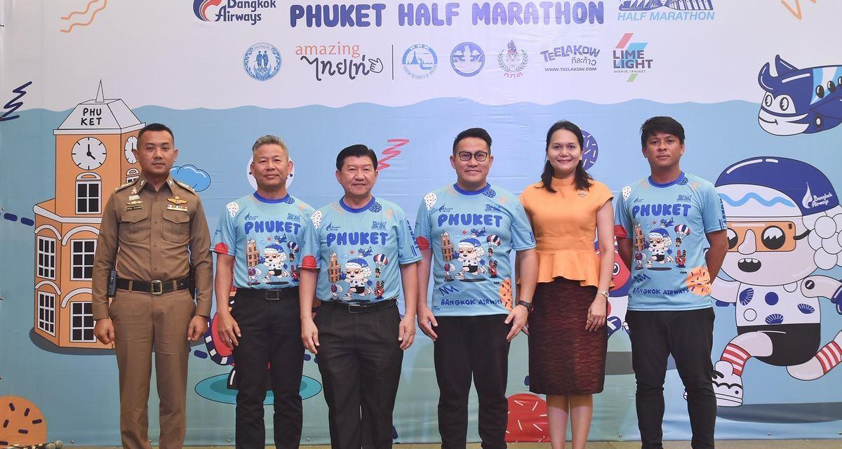 """Bangkok Airways Phuket Half-Marathon"" Press Conference"