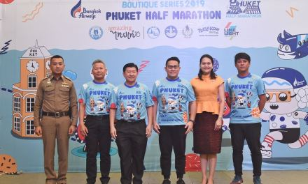 """Bangkok Airways Phuket Half-Marathon"" Press Conference"