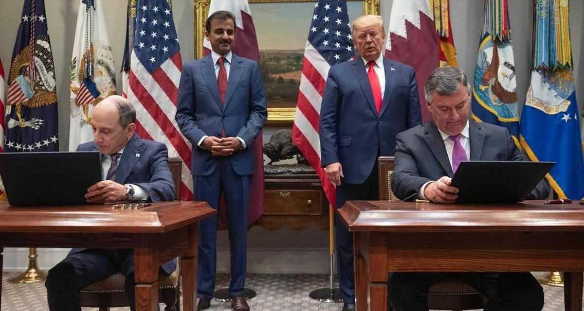 Qatar Airways and GE sign groundbreaking agreements