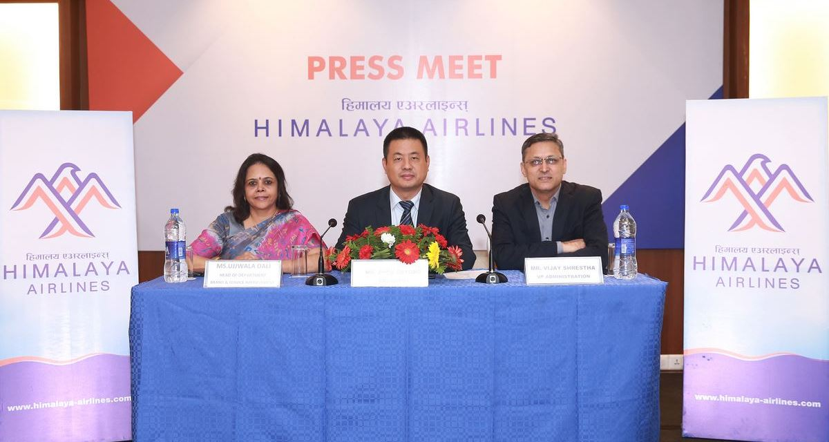 Himalaya Airlines launches its new brand identity