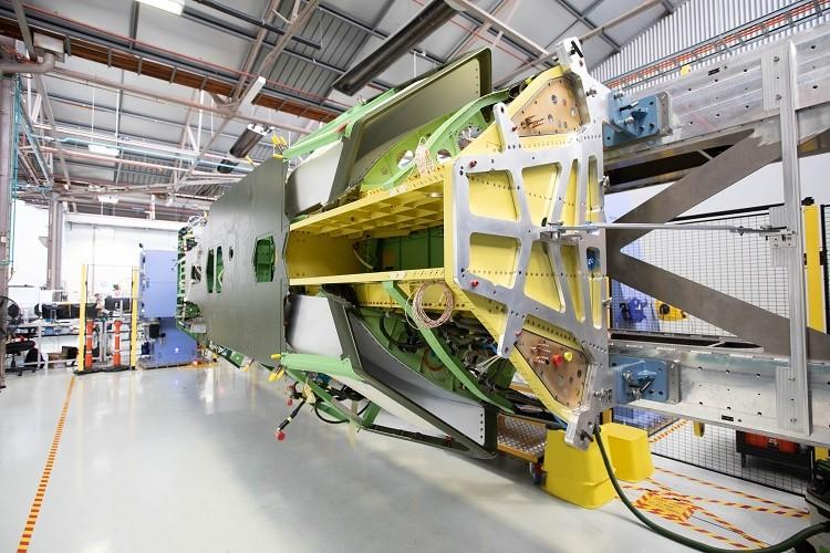 Boeing Australia Completes First Loyal Wingman Fuselage
