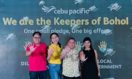 Cebu Pacific extends sustainable Tourism Campaign to Bohol